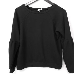 Cable and Gauge black sweatshirt